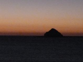Slade rock dawn